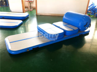 China Custom Made Air Board / Beam / Block Inflatable Air Tumble Track For Gym 20cm Height supplier