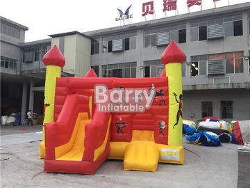 Commercial Inflatable Bouncy Slide , Blow Up Combo Jumping Castle For Kids Play supplier