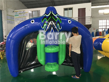 0.9mm PVC Tarpaulin Inflatable Flying Manta Ray / Fly Fish Blow Up Water Park supplier