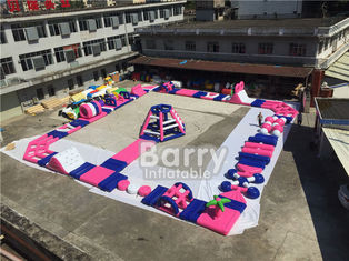 China Giant Inflatable Aqua Park Sports Equipment / Inflatable Water Park Games For Sea supplier