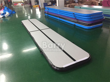 Bouncing Mattress Sport Outdoor Inflatable Mini Air Tumble Track DWF + 1.2mm Plato Material supplier