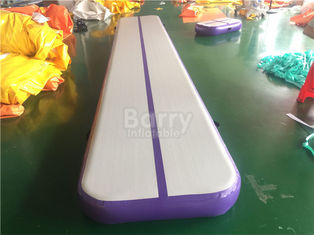 8m Gymnastic Pump Mat Gym Inflatable Air Track Mattress For Indoor Or Outdoor supplier