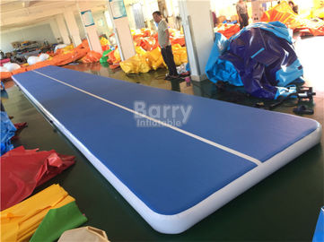Customs Size Inflatable Air Track Gymnastics Mat For Tumbling Durable supplier