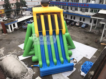 Commercial Grade 4 Lanes Wet Giant Inflatable Water Slide For Big Event supplier