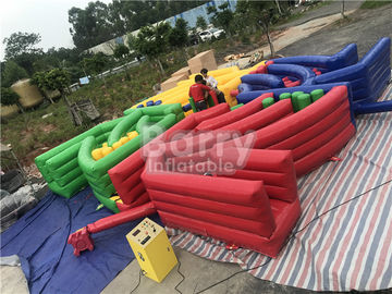 Fantasy World Entertainment Inflatable Sports Games Interactive Dizzy X With Machine supplier