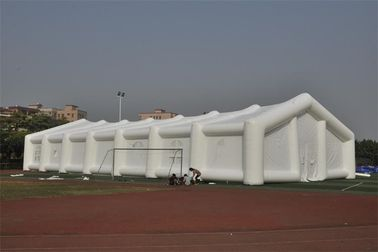 Romantic Inflatable Tent For Wedding Decoration , Dome Outdoor White Party Tent supplier