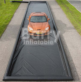 Commercial Air Sealed PVC Inflatable Car Wash Mat Easy Set Up supplier