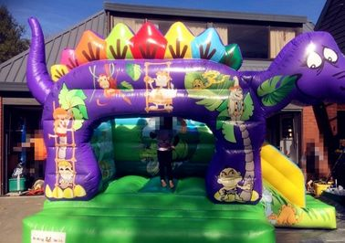 Kids Inflatable Bouncer Cartoon Jumping Castle Kid Fun / Inflatable Castle supplier