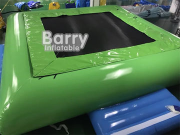 PVC Tarpaulin Inflatable Water Toys Jumping Water Trampoline Bed Airtight Bouncer supplier