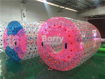 Transparent Inflatable Pool Water Roller Ball For Grassplot / Beach supplier
