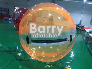 Custom 2M Diameter TPU PVC Inflatable Water Walking Ball / Blow UP Pool Toys supplier