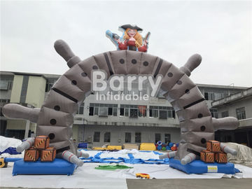 Outdoor Commercial Advertising Inflatable Arch With OEM Logo Printing supplier