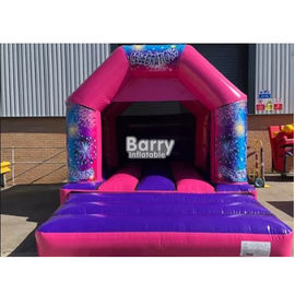16*16*9.5 Ft Kids Bouncy Castle , Small Inflatable Bouncer With 0.55 PVC Tarpulin supplier