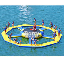 Bouncer Water Park Inflatable Water Toys / Inflatable Trampoline supplier