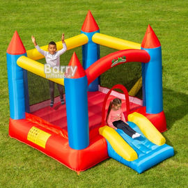 EN71 Inflatable Bounce For Backyard Kids Funny Time Jumping Castle With 0.55mm PVC supplier