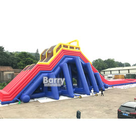 Park Giant Inflatable Vagina Slide / Customized Inflatable Slip And Slide supplier