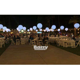 Advertising Inflatable Golf Ball 2.5m Diameter / Inflatable LED Ball For Wedding Decoration supplier