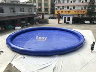 0.9mm PVC Inflatable Swimming Pool / Blow Up Portable Round Water Pool supplier
