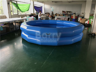 Children Indoor And Outdoor Water Playing Pool 2 Ring Round Inflatable Swim Pool supplier