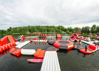 Customized Floating Indoor Water Park Safety Sporting Capacity 145 People supplier