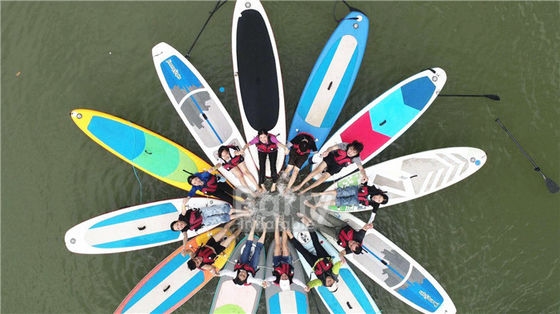 Multi Person Double Layer Inflatable Stand Up Paddle Board For River