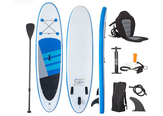 Colorful Sup Waves Inflatable Stand Up Paddle Board With Seat