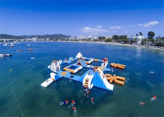 Professional Huge Inflatable Water Park / Inflatable Sea Water Park For Event supplier