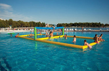 China Durable Inflatable Water Games / Sports Equipment Volleyball Area supplier