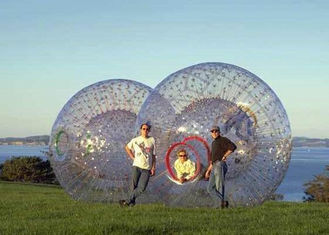 Environmental TPU Outdoor Inflatable Toys Body Zorb Ball for Adults Rental supplier