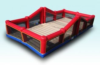 Exciting Indoor Inflatable Sports Games Bouncy Volleyball Court With CE supplier