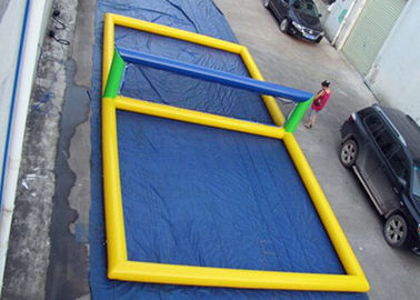 Fun Inflatable Pool Toys Inflatable Beach Volleyball Court For Water supplier