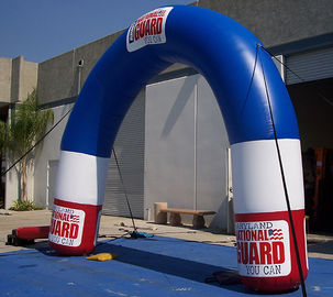 Event Inflatable Advertising Products Curved Arch of Plato PVC tarpaulin supplier