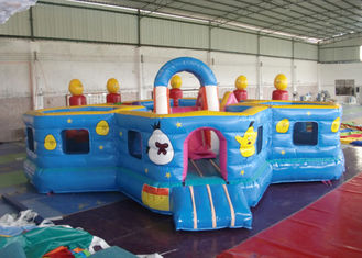 Lovely Waterproof Inflatable Toddler Playground ,  Kids Bouncy Castle Rental supplier