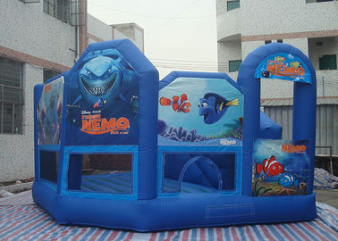 Funny Inflatable Toddler Playground , Waterproof Inflatable Air Castle With CE Blower supplier