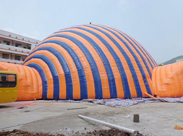 High Temperature Resistance Dome Inflatable Tent / Inflatable Sport Tent For Commercial supplier