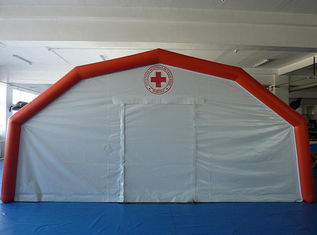 Portable 0.65mm PVC Tarpaulin Inflatable Medical Tent For Hospital , EN71 - 2 - 3 supplier