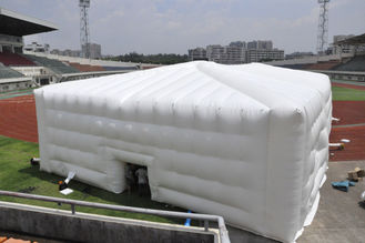 China OEM Durable PVC Inflatable Event Tent / Inflatable Cube Tent For Exhibition supplier