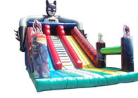 China Batman Dry Outdoor Inflatable Slide Durable 0.55 PVC Tarpaulin For Childs factory