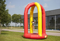 China Extrem Inflatable Sports Games 4.2m Inflatable Bungee Trampoline factory