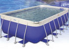 China House ' s Backyard Easy Intex Pool , 0.9mm Plato PVC Tarpaulin Family Swimming Pool factory
