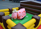 China Crazy Junior Rodeo Bull Ride Outdoor Inflatable Games Air Mechanical Bull factory