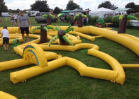 China Outdoor Mobile Crazy Inflatable Golf Course Apply To Family Event factory
