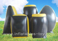 China Professional Inflatable Sports Games , Inflatable Paintball Bunker With 0.55 PVC Material factory