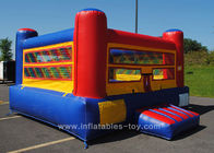 China Outside Inflatable Sports Games Colorful Inflatable Mini Boxing Ring For Kids factory