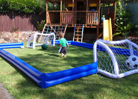 China Kids Inflatable Sports Games Inflatable Football Field For House Backyard factory
