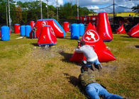 China Inflatable PVC Bunkers Paintball For Adult And Kids , Paintball Tank Paintball Fields factory