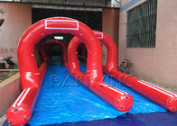 China Customized Amazing Giant / Big Inflatable Slides Inflatable Pirate Ship Double Slide factory