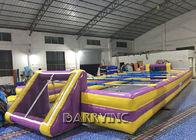 China Customized Outdoor Inflatable Sports Games Adults / Children Inflatable Soccer Field factory