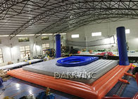 China Commercial Grade PVC Inflatable Sports Games Inflatable Beach Volleyball Court factory