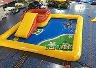 China 6 * 6 * 0.65M Inflatable Swimming Pool / Large Inflatable Pool Toys For Kids factory
